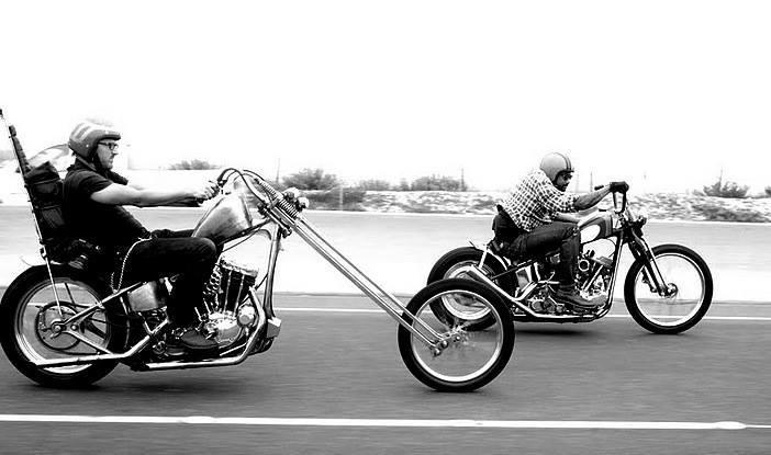 Chopper or bobber. What you prefer?